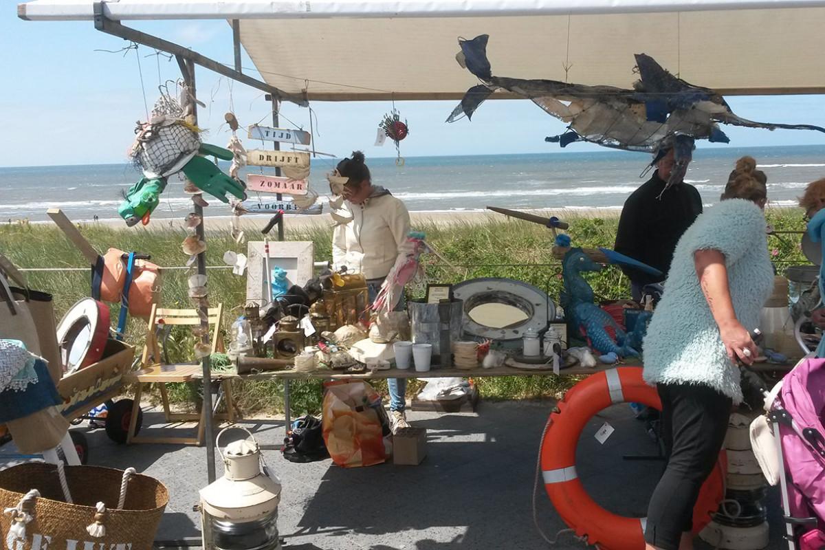 Rootsmarket in Egmond aan Zee
