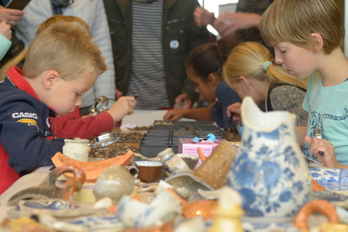Nationale Archeologie Dagen in Castricum