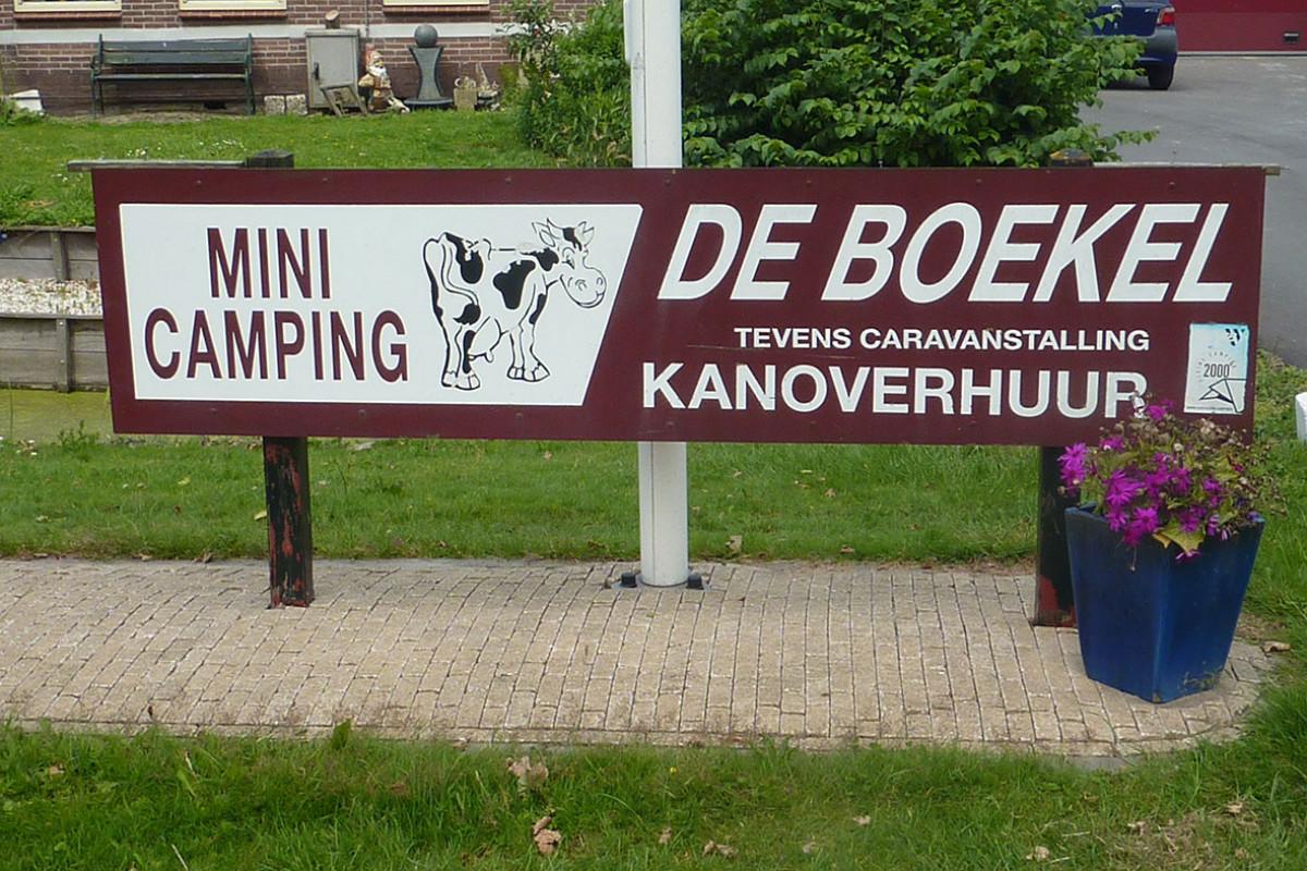 Mini camping De Boekel