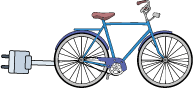 Fahrrad Ladestation